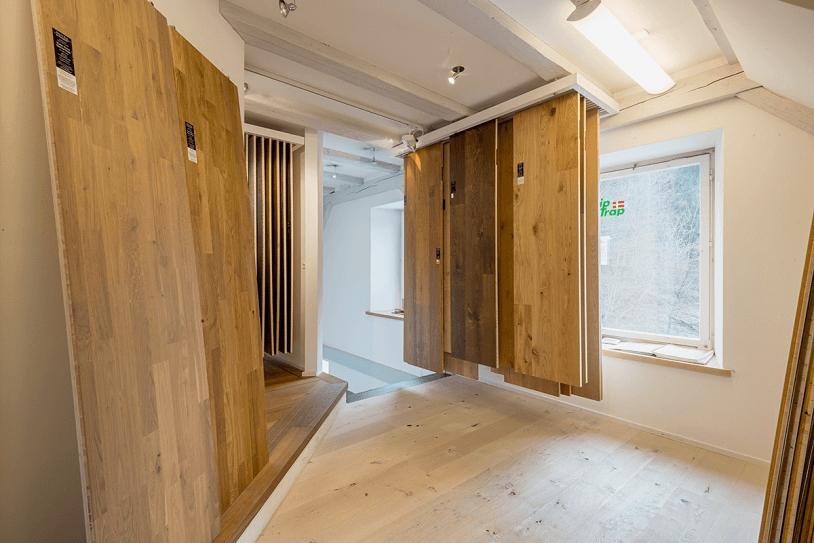 Showroom-Parkett
