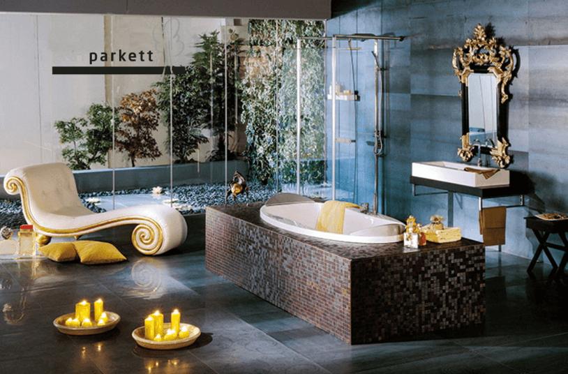 mosaik parkett bad 2. Black Bedroom Furniture Sets. Home Design Ideas
