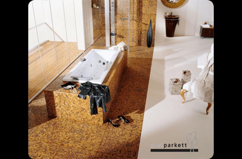 Mosaik-Parkett