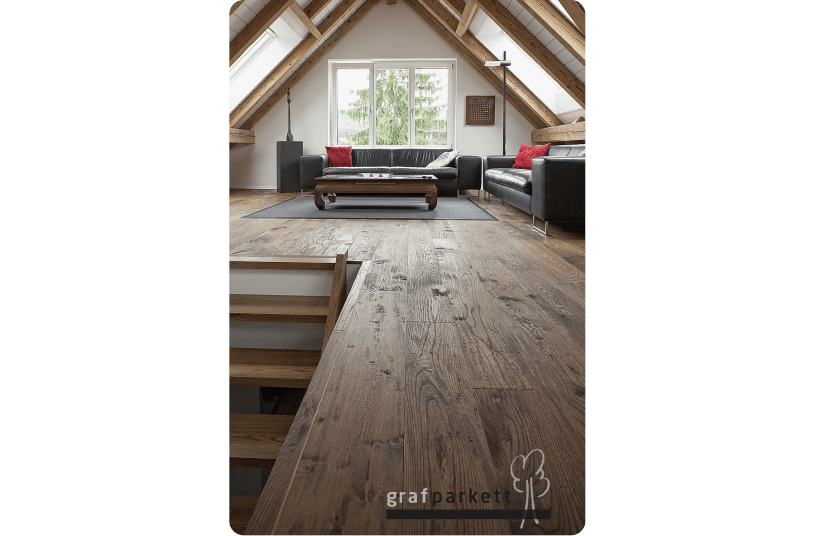 Holzboden-geschroppt