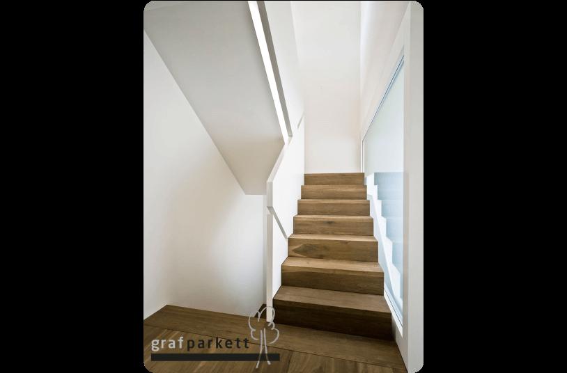 Treppen-Parkett