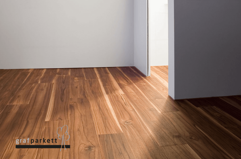 Teak-Holzboden